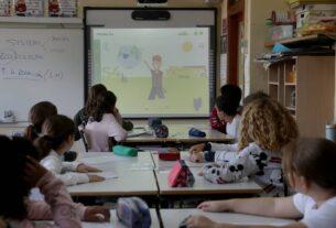 Clases sobre medio ambiente en el colegio público Fernando de los Ríos de Las Rozas (Madrid). ULY MARTÍN